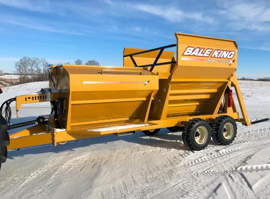 Bridgeview - Bale King 5225 grain tank processor
