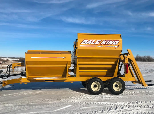 Bridgeview - Bale King 5225 processor