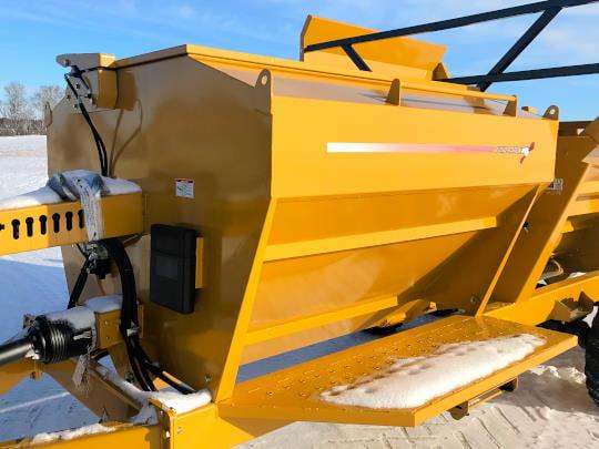 Bridgeview - Bale King 5225 100 bushel grain tank processor