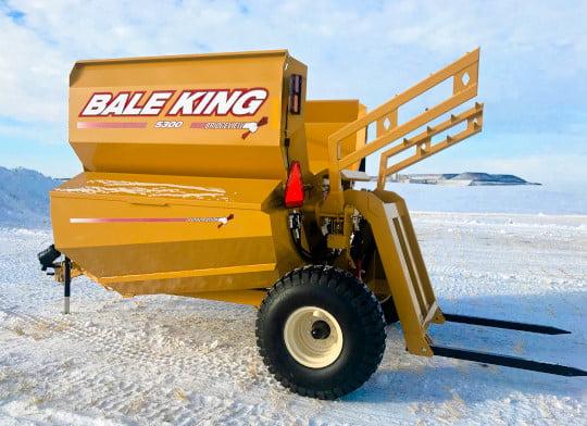 Bridgeview - Bale King 5300 grain tank