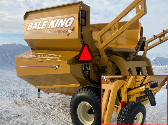 Bridgeview- Bale King 5300 grain tank