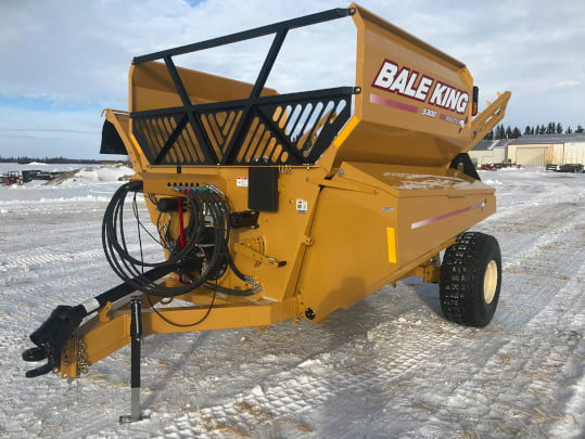 Bridgeview - Bale King 5300 3 Bale grain tank