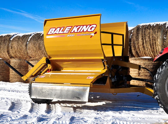 Bridgeview - Bale King 8200 Front