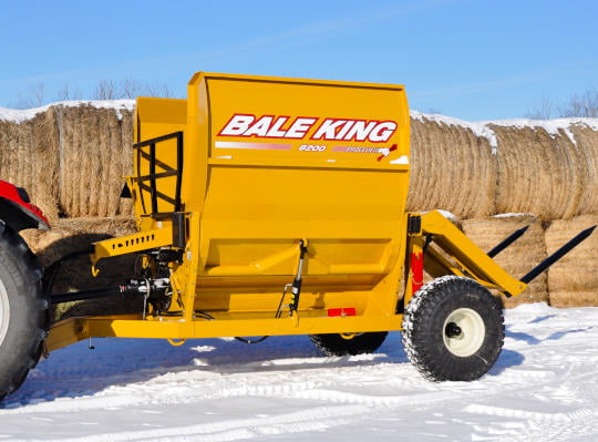 Bridgeview - Bale King 8200 processor wing