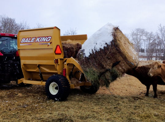Bridgeview - Bale King 8200 processor