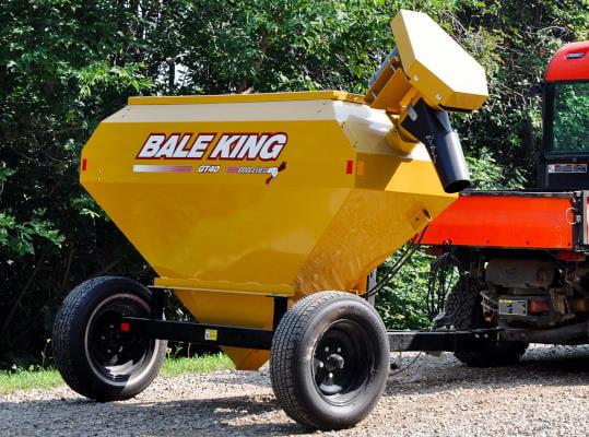Bridgeview - Bale King GT40 trailer grain tank