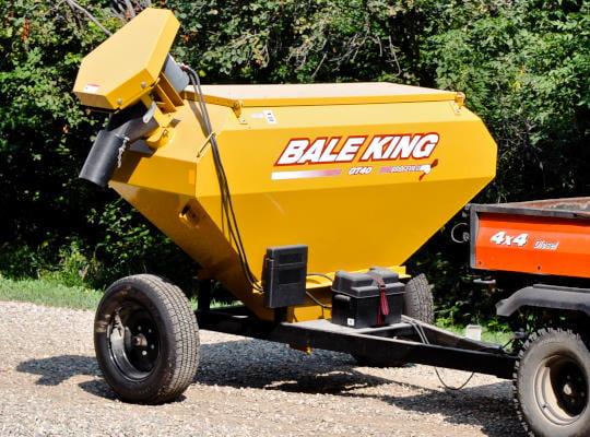 Bridgeview - Bale King GT40 grain feeder wagon