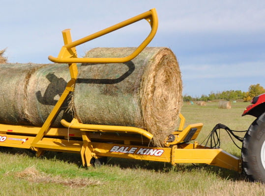 Bridgeview - Bale King BR820 bale retriever bale fork