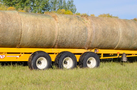 Bridgeview - Bale King BR820 bale retriever axles