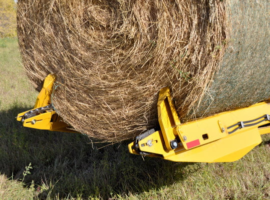 Bridgeview - Bale King BR820 bale retriever bale stoppers