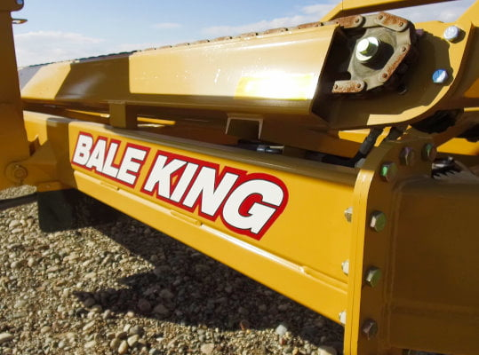 Bridgeview - Bale King BR820 bale retriever - Chain