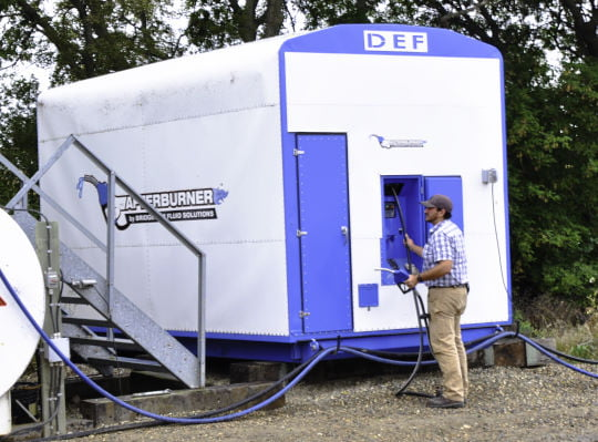 Bridgeview fluid solutions - 16000 liter diesel exhaust fluid storage tank