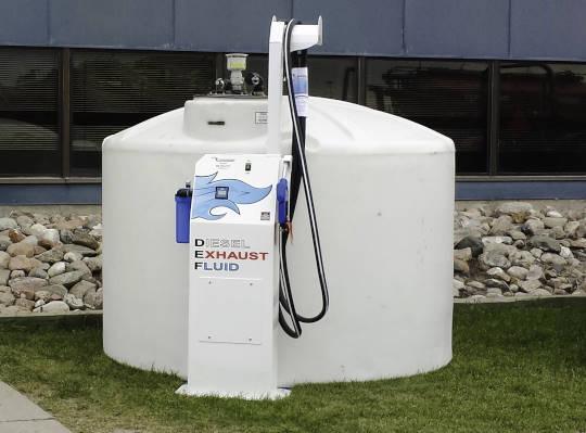 Bridgeview - Bulk diesel exhaust fluid tank and dispenser