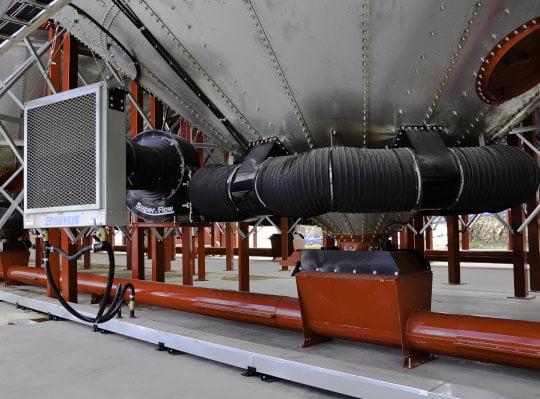 Bridgeview - Grain express jet stream air heated