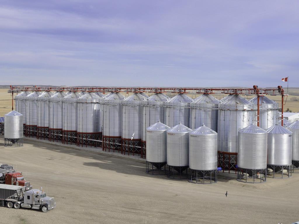 Bridgeview - Grain express handling system