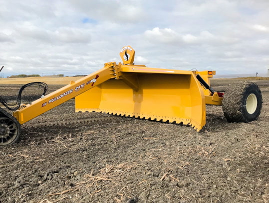Bridgeview - Pulldozer 2410 blade front view