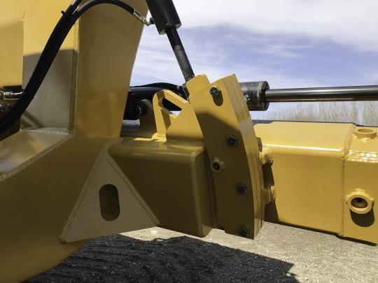 Bridgeview - Pulldozer transformer axle