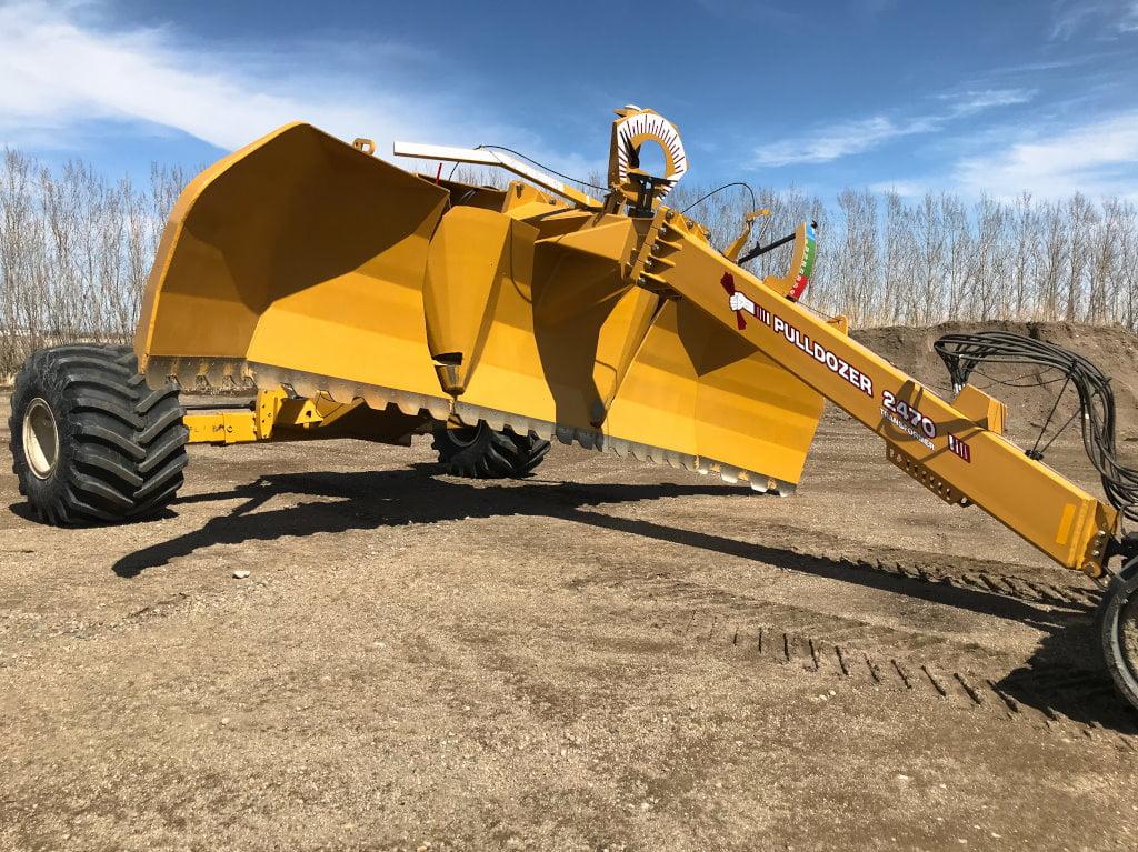 Bridgeview - Pulldozer transformer blade tilt