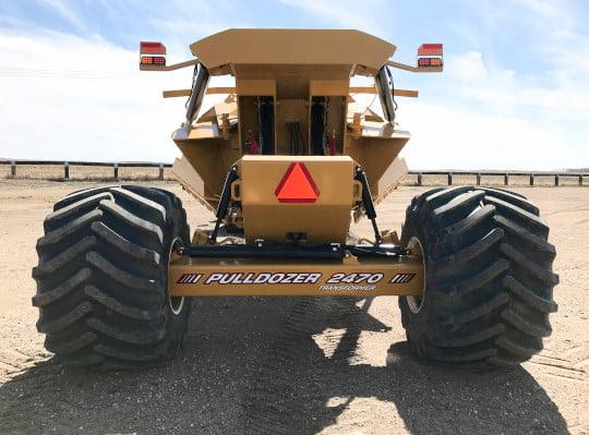 Bridgeview - Pulldozer transformer in road position