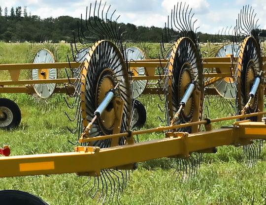 Bridgeview - Bale King VR683 hay rake tine wheel