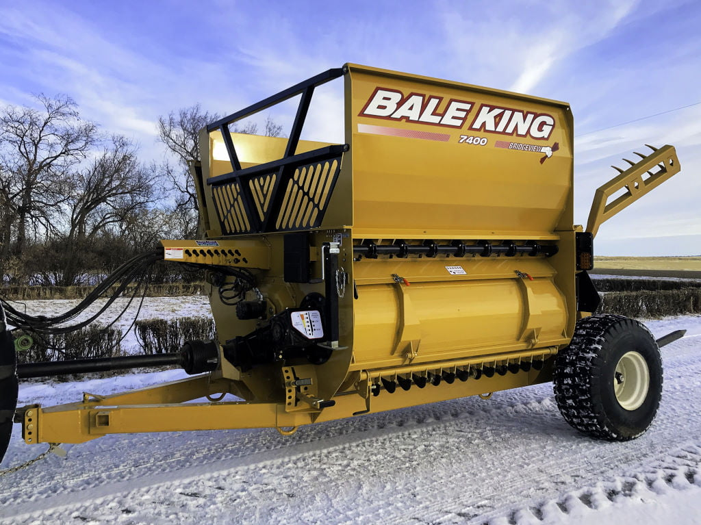 Bridgeview - Bale King 7400 Chain Bale Processor