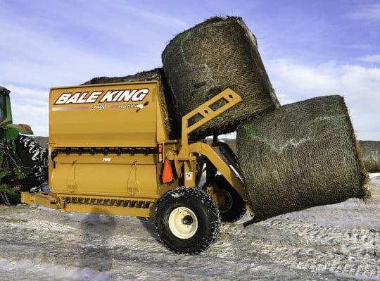 Bridgeview - Bale King 7400 processor 3 bale